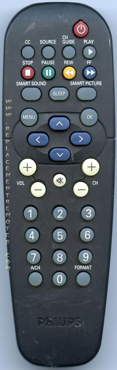 PHILIPS RC19335027/01 TV Remote Control