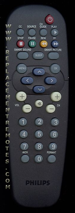 PHILIPS RC2888/01 Commercial TV Remote Control