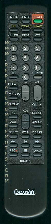 MOTEVA RC2002 Remote Control
