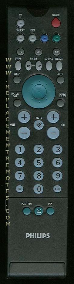 PHILIPS RC2011/01 TV Remote Control