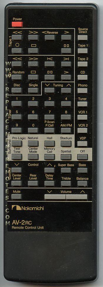 Buy Nakamichi Rc2av Remote Control