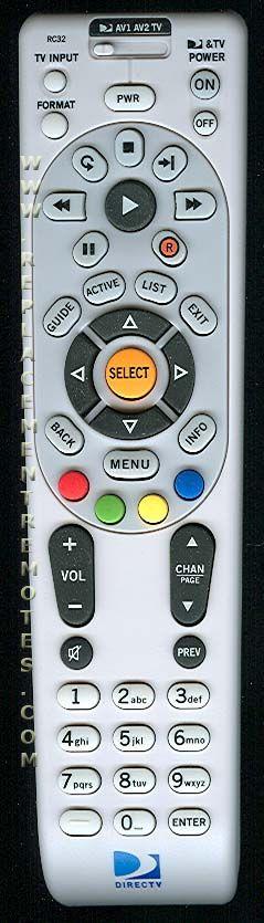 DirecTv RC32 Remote Control