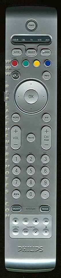 PHILIPS RC4308/01B Remote Control