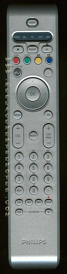 PHILIPS RC4345/01B TV Remote Control