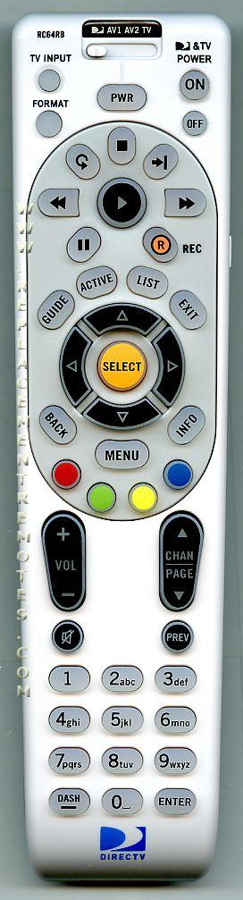 Buy Directv Rc64rb Rc64rbk Remote Control