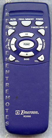 Buy Emerson Rc6560 Audio System Remote Control