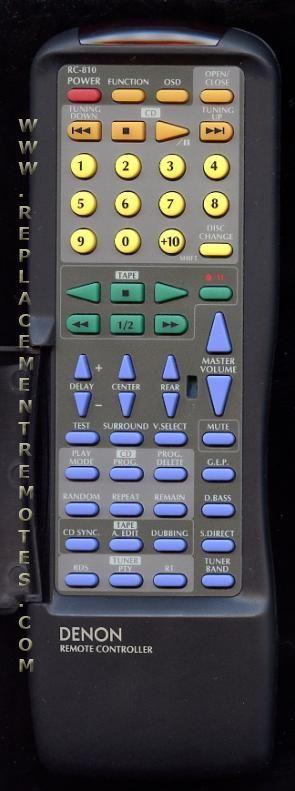 DENON RC810 Remote Control