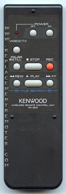 KENWOOD RC903 Audio System Remote Control