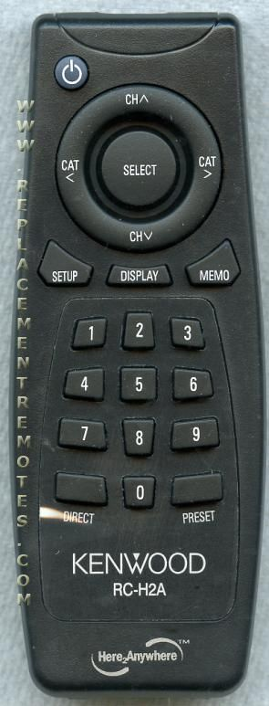 KENWOOD RCH2A Remote Control