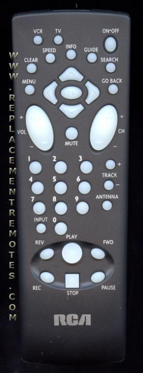 Buy Rca Rcr110va1 257450 Tv Vcr Combo Remote Control
