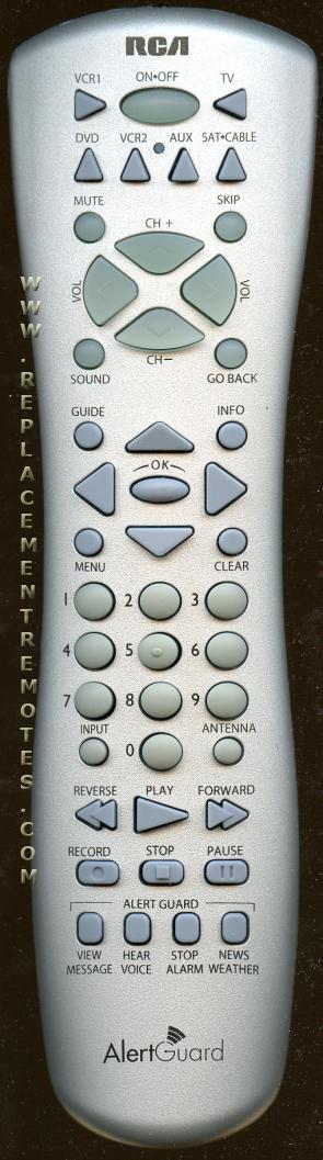 RCA RCR160THM1 TV Remote Control