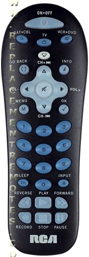 Rca oem universal remote control rcr311b with manualcode list.