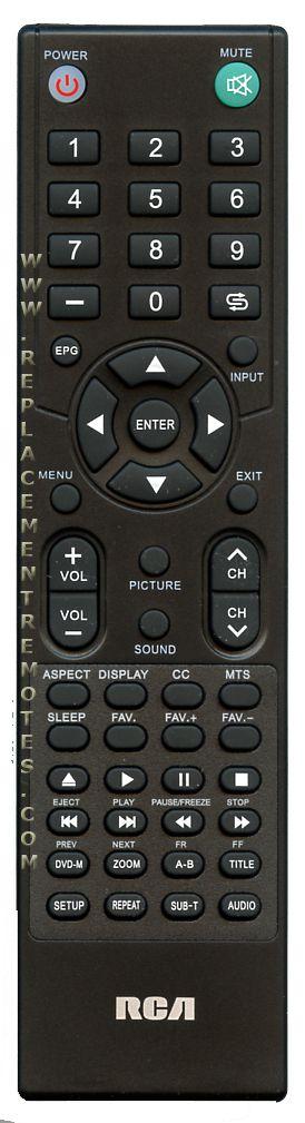 RCA RE20QP29 TV Remote Control