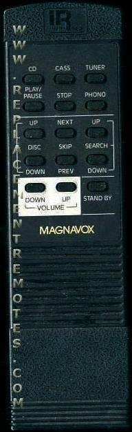 Magnavox RH6100/17 Audio System Remote Control
