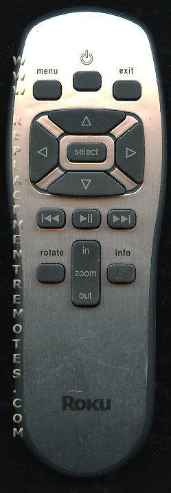 Buy Roku Rku001 Streaming Media Player Remote Control