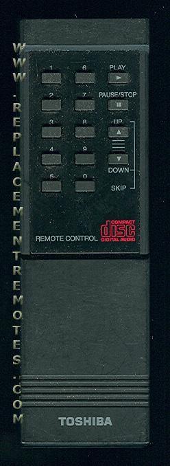 TOSHIBA RMP9A Remote Control