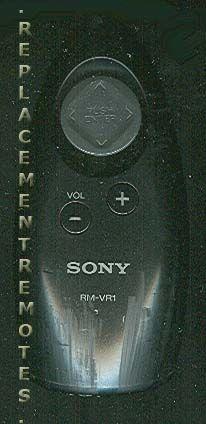 Buy Sony Rm Vr1 Rmvr1 147365811 Remote Control
