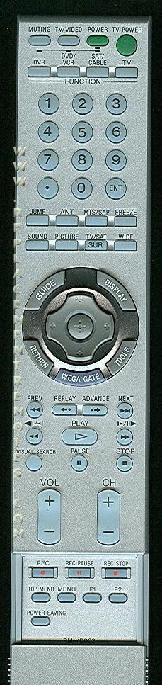 SONY RMYD002 TV Remote Control