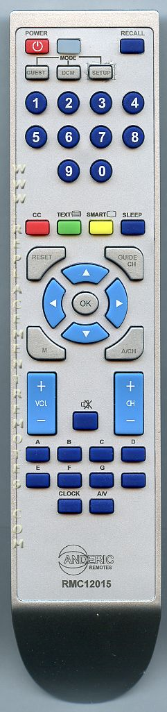 ANDERIC RMC12015 for Philips Master TV Remote Control