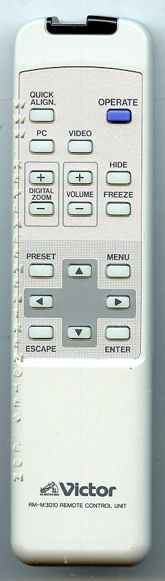 Victor RMM3010 Remote Control