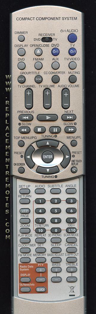 Buy Jvc Rm Seexa10r Rmseexa10r Remote Control
