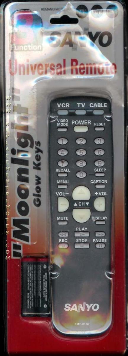 SANYO RMTU100 TV Remote Control