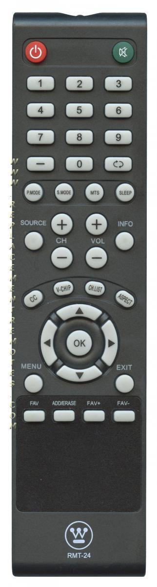 Westinghouse RMT24 TV Remote Control