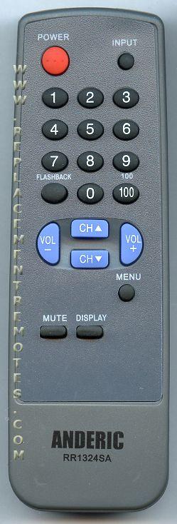 ANDERIC RR1324SA SHARP TV Remote Control
