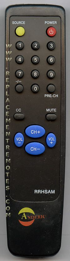 Anderic-Hospitality Simple Samsung TV Remote Control
