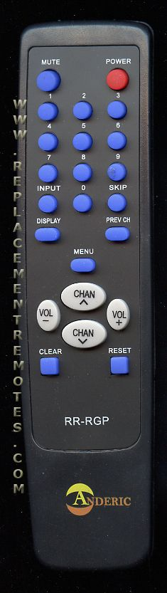 Simple Remote Control for RCA