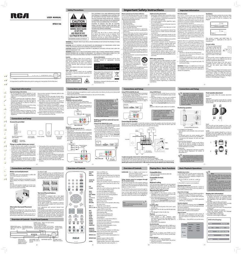 Buy Rca Rtd3136om Rtd3136 Operating Manual border=