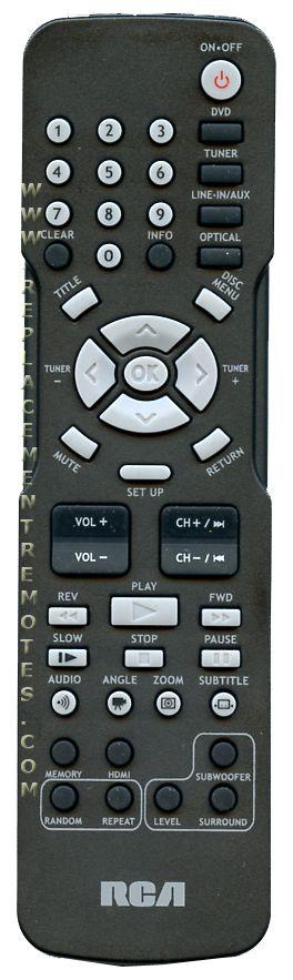 buy rca rtd325w rtd325w home theater system remote control rh replacementremotes com RCA RTD325W Home Theater Surround Sound RCA RTD317W