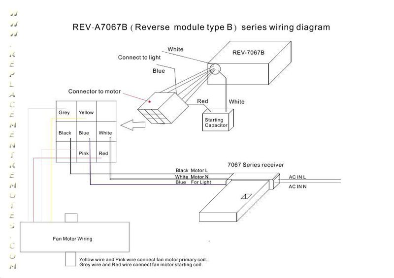 Reverse module REV A7067B wiring diagram_page_1 emerson ceiling fan wiring diagram diagram wiring diagrams for Hunter 3 Speed Fan Switch at cos-gaming.co