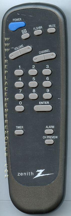 ZENITH SC652Z Commercial TV Remote Control