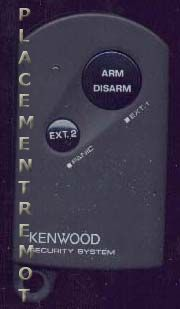 KENWOOD SS01 Audio System Remote Control