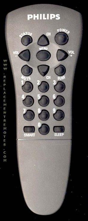 PHILIPS T216JGMA01 TV Remote Control