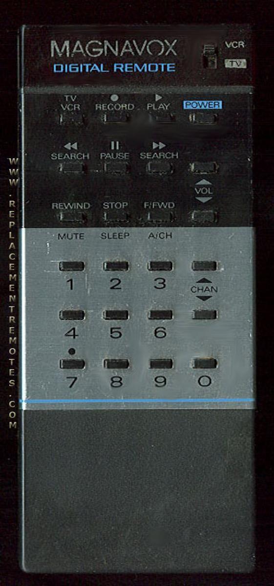 Magnavox TUMA5GMA01 TV Remote Control