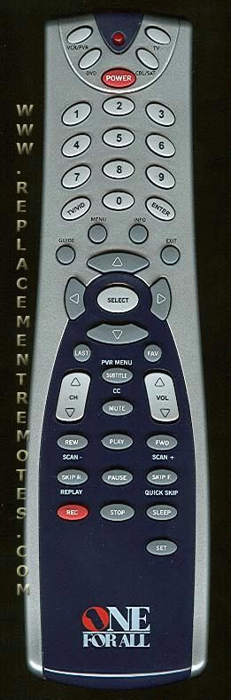 Buy One For All Urc4021 Urc4021b00 4 Device Universal Remote Control