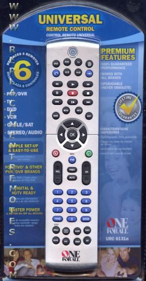 one for all remote instructions manual