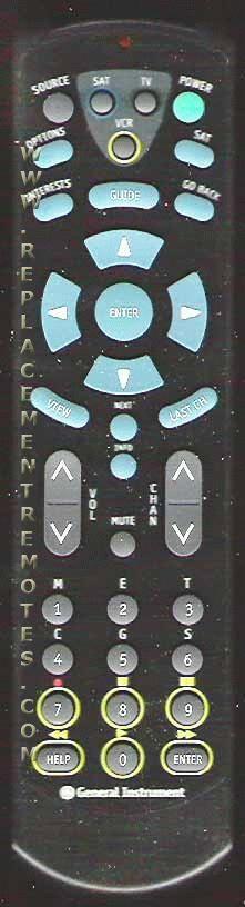 General Instrument URC930 Remote Control