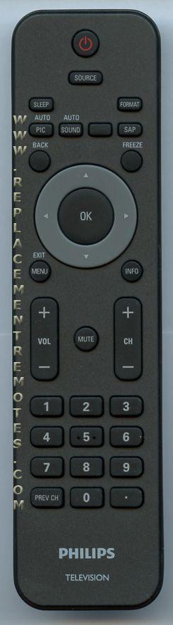 PHILIPS URMT34JHG001 TV Remote Control