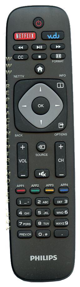 PHILIPS URMT39JHG002 TV Remote Control