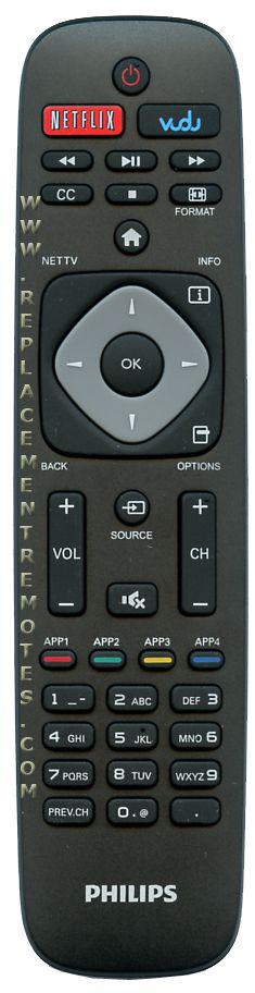 PHILIPS URMT39JHG003 TV Remote Control