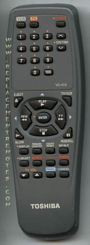 TOSHIBA VC413 Projector Remote Control