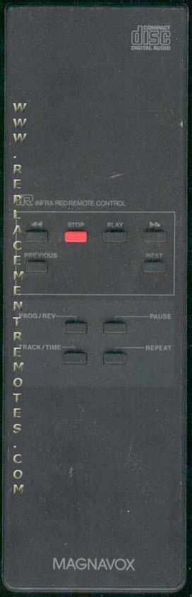 Magnavox VINEM2000 Audio System Remote Control