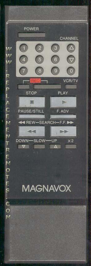 Magnavox VINRM85EC01 VCR Remote Control