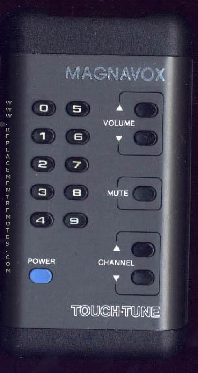 Magnavox VINTOUCHTUNE TV Remote Control