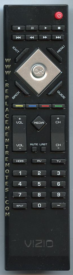 VIZIO VR15 TV Remote Control