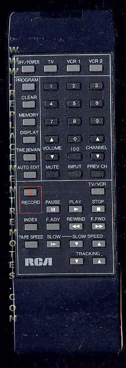 RCA VR319 VCR Remote Control