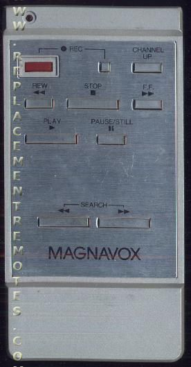 Magnavox VSQS0068 VCR Remote Control
